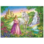 200 pc Ravensburger Puzzle - Princess with Horse XXL Pieces