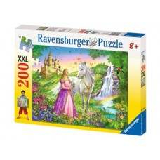 200 pc Ravensburger - Princess with Horse Puzzle XXL