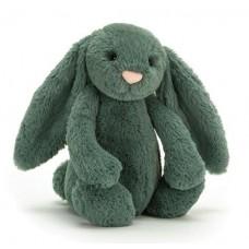 Bashful Bunny Medium - Forest Green Rabbit - Jellycat