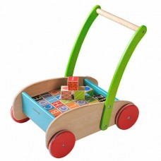 Walker Wagon with Blocks - EverEarth
