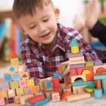 Blocks Wooden Build & Learn Set 80pcs - EverEarth