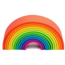 RAINBOW Silicone - LARGE Neon - dëna Toys NEW LIMITED STOCK