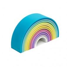 RAINBOW Silicone - LARGE Pastel - dëna Toys