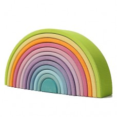 Rainbow Stacker Large Pastel - Grimm's Toys