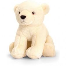 Polar Bear Plush 18cm - ECO - KeelECO