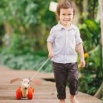 Happy Puppy Pull Along - PlanToys