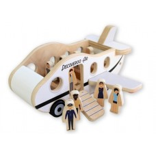 Plane Play Set Wooden - Discoveroo