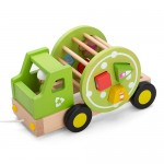 Pull Along Recycling Truck - EverEarth
