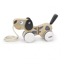 Pull Along Puppy - Scandi - Viga Toys