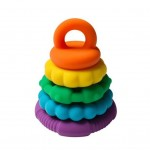 Rainbow Stacker Teether Toy - Jellystone Designs