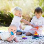 Rainbow Stacker Teether Toy - Jellystone Designs