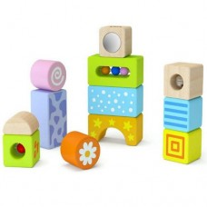 Blocks with Sounds Wooden - Viga Toys