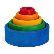 Stacking Bowls - Blue - Grimms