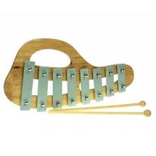 Xylophone Wooden / Metal - Green