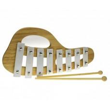 Xylophone Wooden / Metal - White
