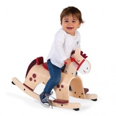 Rocking Horse Pony Wooden - Janod
