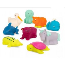 Squish & Splash - Bath Squirters 9pc Set - B. Dot