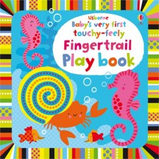 Baby's Very First Touchy-feely Fingertrail Play Book - Usborne