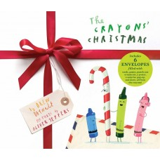 The Crayons Christmas - by Drew Daywalt & Oliver Jefferies