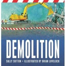 Demolition -  Board Book - by Sally Sutton