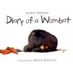 Diary of a Wombat Board Book  - By Jackie French