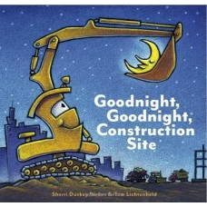 Goodnight Goodnight Construction Site - Board Book - by Sherri Dusky Rinker