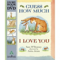 Guess How Much I Love You Book & DVD - by Sam McBratney