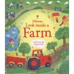 Look Inside a Farm - Usborne