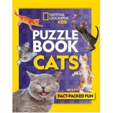 Puzzle Book - Cats - National Geographic Kids