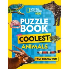 Puzzle Book - Coolest Animals - National Geographic Kids