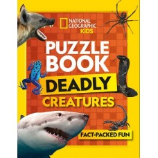 Puzzle Book - Deadly Creatures - National Geographic Kids