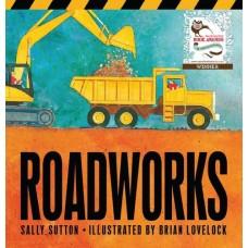 Roadworks -  Board Book - by Sally Sutton