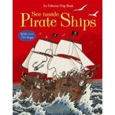 See Inside Pirate Ships  - Usborne