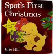 Spot's First Christmas Board Book - by Eric Hill