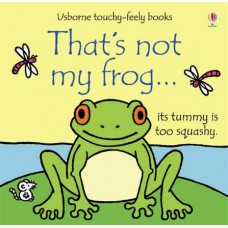 That's Not My Frog Touchy Feely Book - Usborne - Board Book