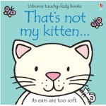 That's Not My Kitten Touchy Feely Book - Usborne - Board Book