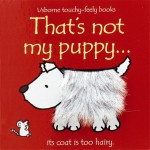 That's Not My Puppy Touchy Feely Book - Usborne - Board Book