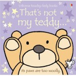 That's Not My Teddy Touchy Feely Book - Usborne - Board Book