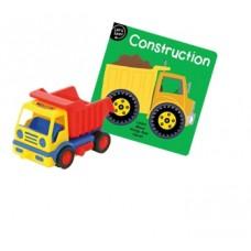 Construction Truck & Book Combo