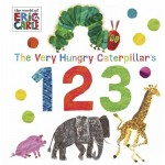 The Very Hungry Caterpillar 123 Board Book - by Eric Carle