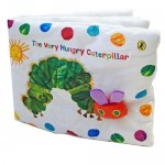 The Very Hungry Caterpillar Cloth Book - by Eric Carle