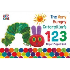 The Very Hungry Caterpillar Finger Puppet Book - by Eric Carle