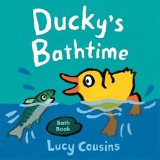 Ducky's Bathtime - Bath Book - by Lucy Cousins