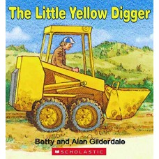 The Little Yellow Digger - Board Book