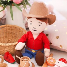George the Farmer - Ruby Farmer Cuddle Doll