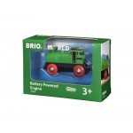 Train - Battery Powered Engine Two Way - Brio Wooden Trains 33595