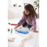 Train - Cargo Train & Tunnel - Brio Wooden Trains 33891