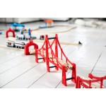 Train - Bridge Double Suspension - Brio Wooden Trains 33683