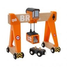Train - Gantry Crane - Brio Wooden Trains 33732