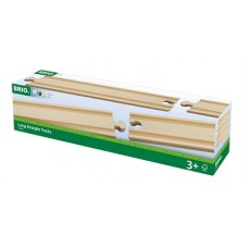 Train - Wooden Track Straight Long 4pc - Brio Wooden Trains 33341